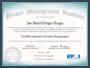 Certificação CAPM: oprojeto